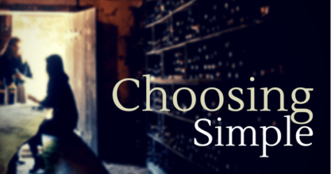 choosing simple living