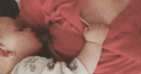 motherhood on purpose cuddling baby