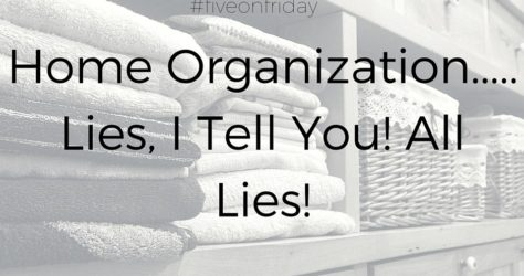 the truth about home organization