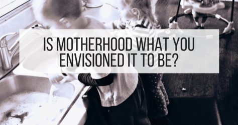 Is Motherhood What You Envisioned It To Be? #wholemama