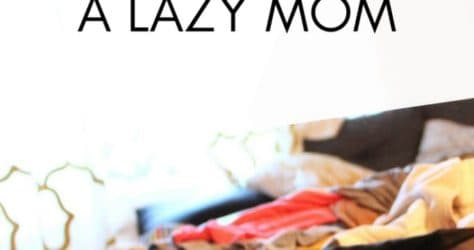 I Stopped Calling Myself a Lazy Mom