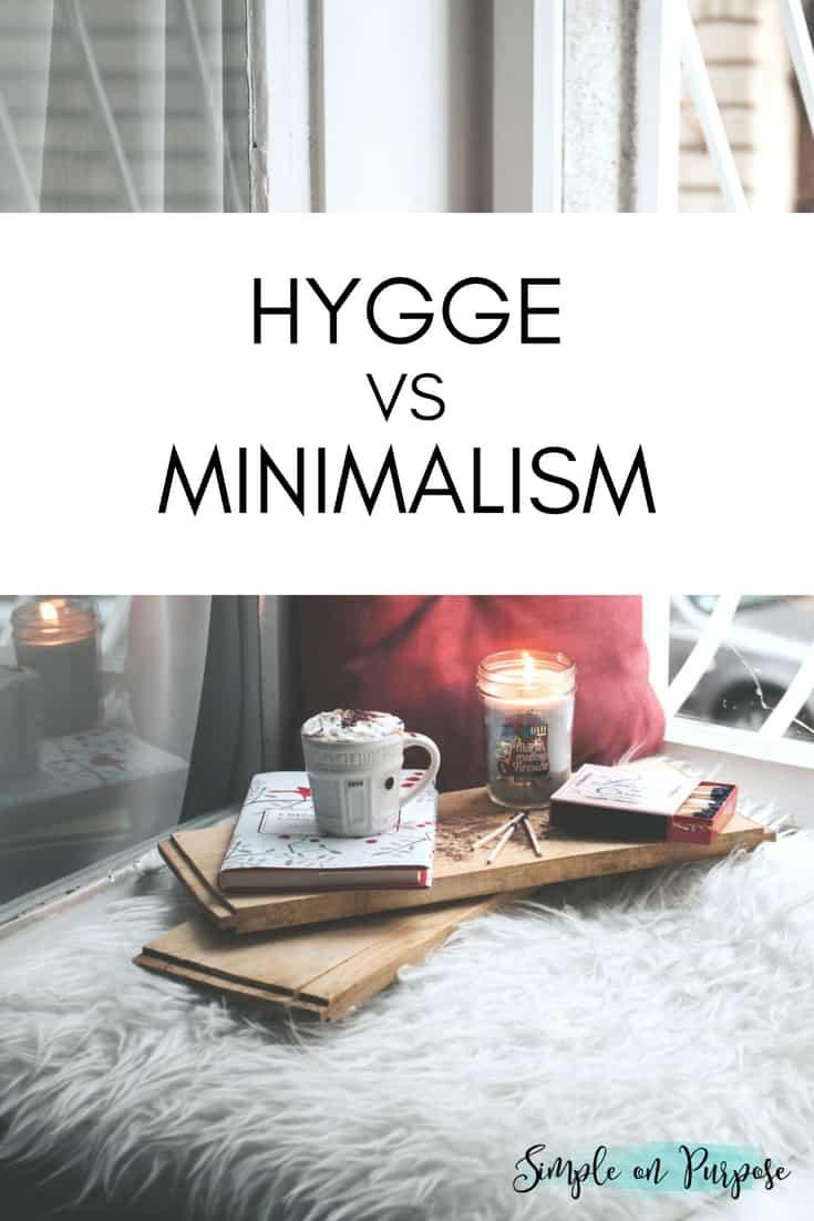 Hygge vs minimalism simple on purpose for Minimalist simple living