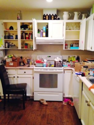 decluttering our kitchen purge minimalism