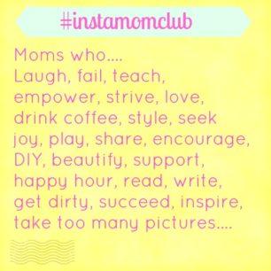 instagram moms online community