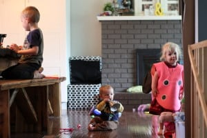 my life at home with three kids, simple on purpose