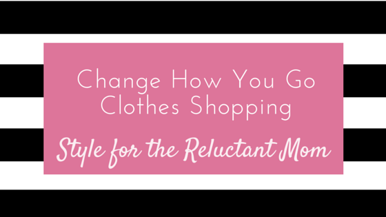 change how you clothes shop style for moms, simple on purpose