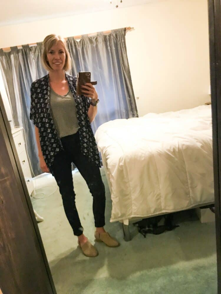 simple mom outfit