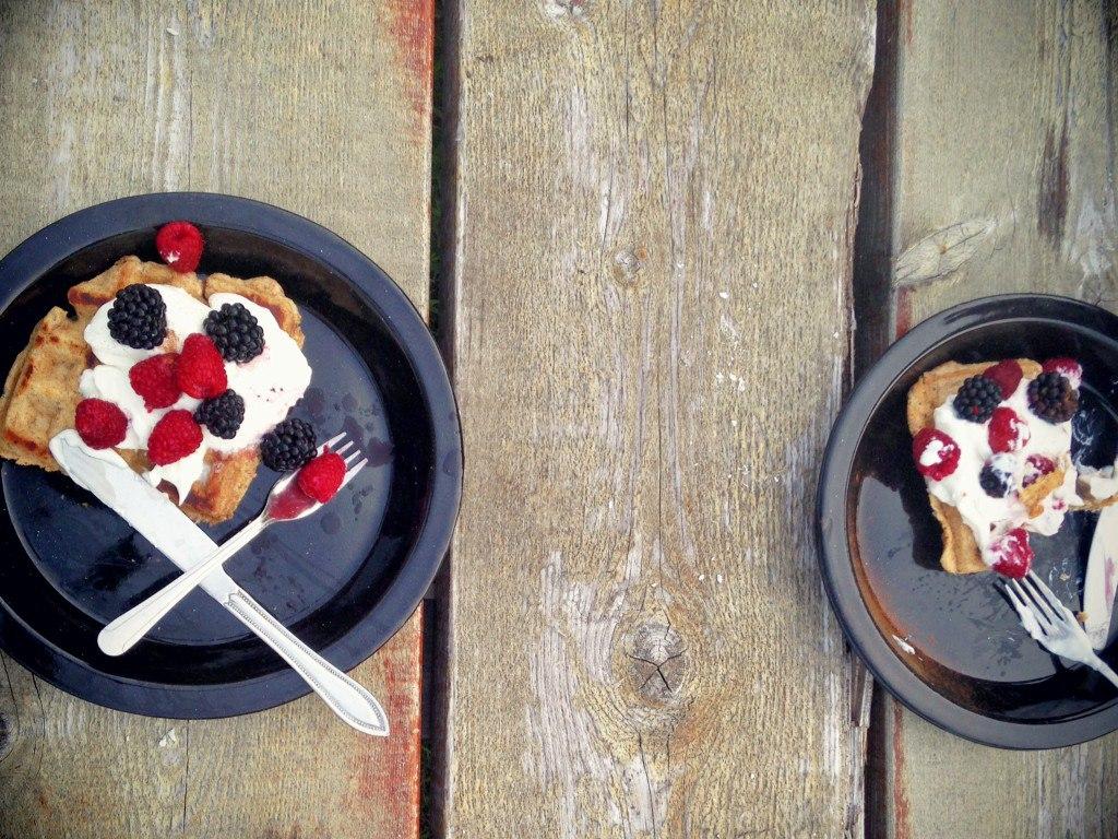 camping waffles