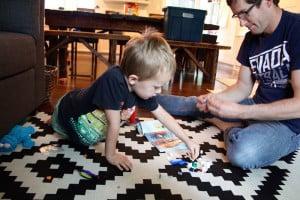 parent lego assembly