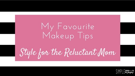 simple on purpose style and beauty for the reluctant mom series