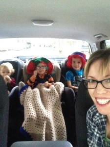 roadtrip with toddlers