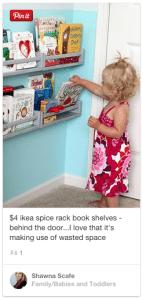bookshelf for toddlers