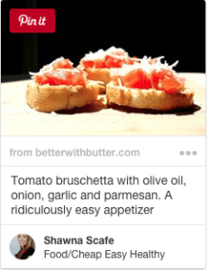 simple easy tomato bruschetta