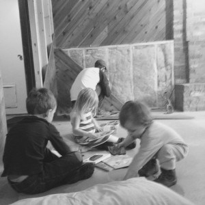 remodelling the home with kids