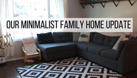 update on minimalist family home