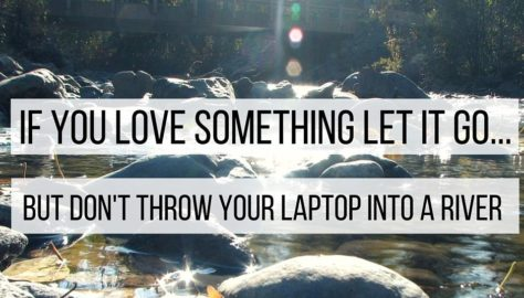 if you love something