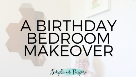 birthday bedroom