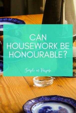 housework honourable