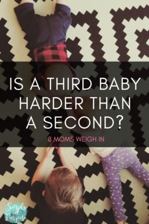 third baby harder than second