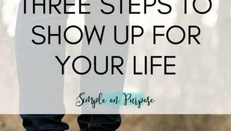 show up for you life