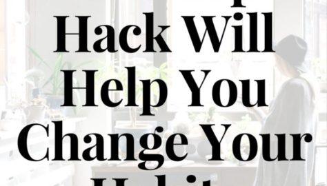 change habits tracker bullet journal