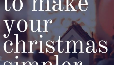 simple easy christmas tips