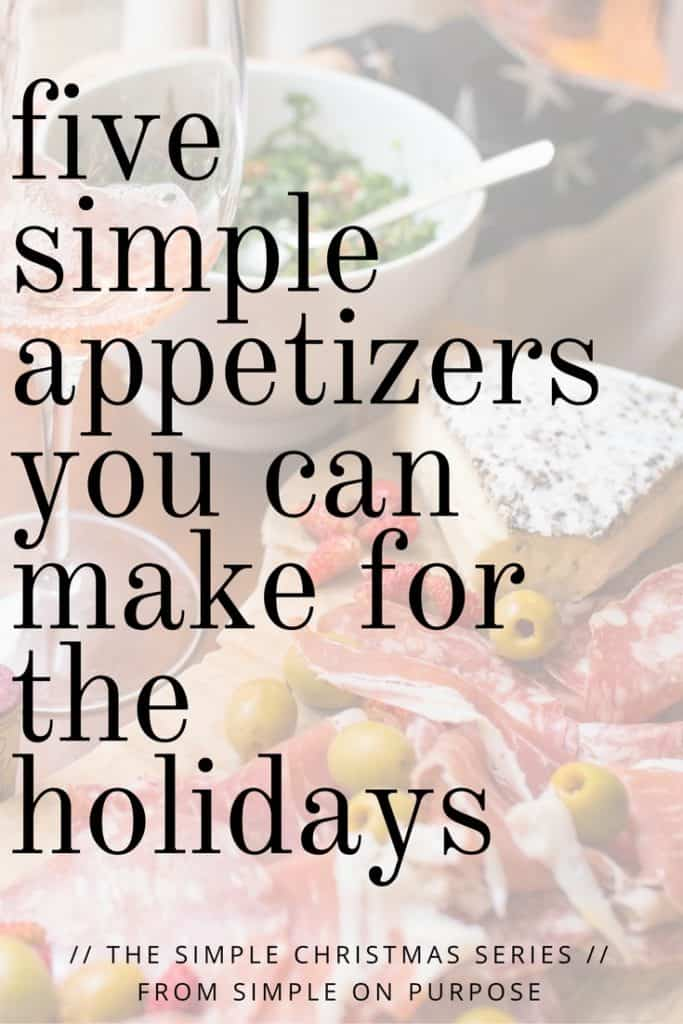 easy holiday appies