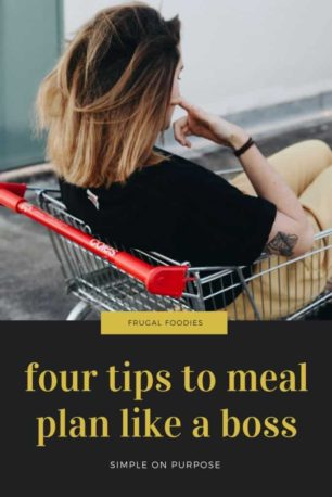 tips to meal plan like a boss