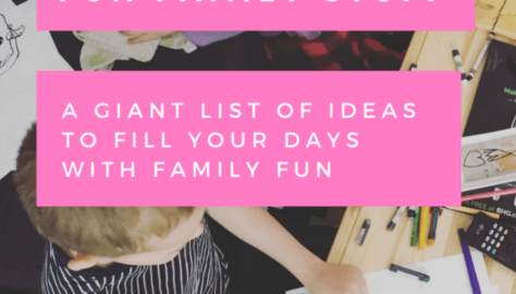 fun family stuff giant list of ideas