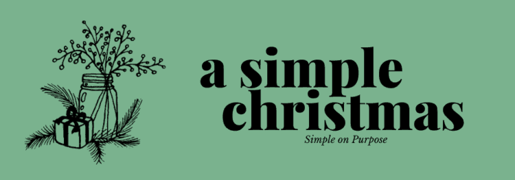 a simple christmas series for families to simplify