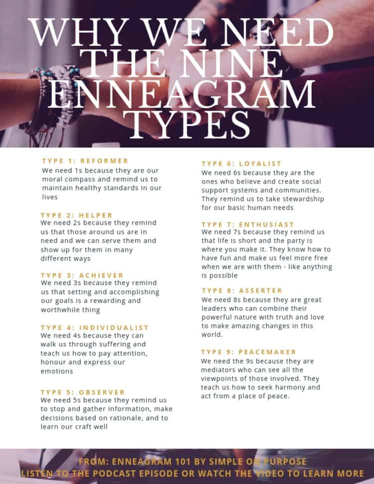 the nine enneagram types all have a unique approach to life that they offer the world around them
