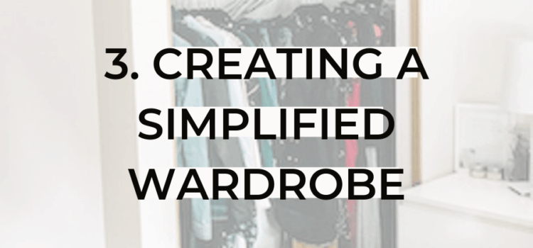 step three to simpler momlife wardrobe declutter