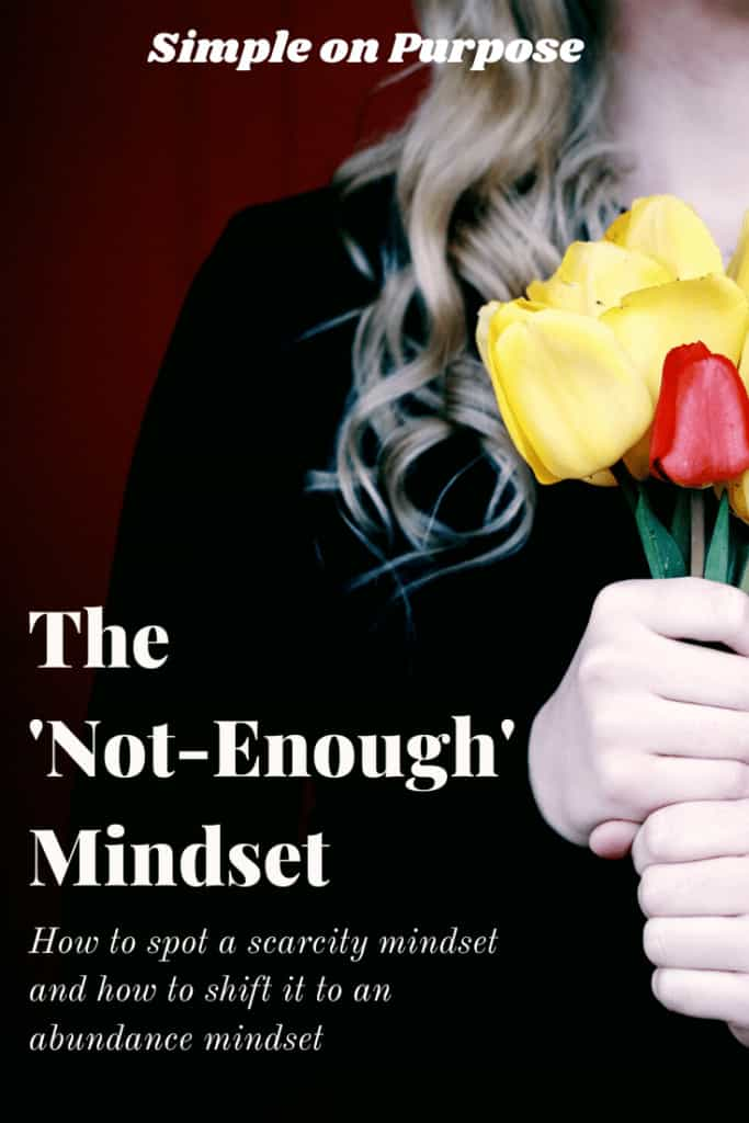 the not-enough mindset how to spot scarcity mindset