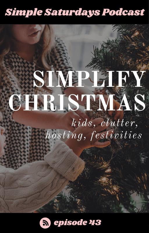 minimalist kids christmas clutter