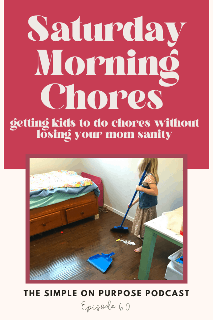 saturday morning chores
