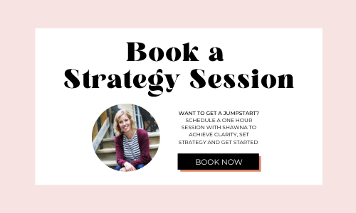 Life coaching strategy session for moms