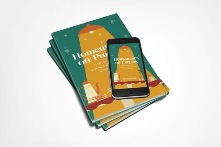 ebook paperback of homemaker on purpose