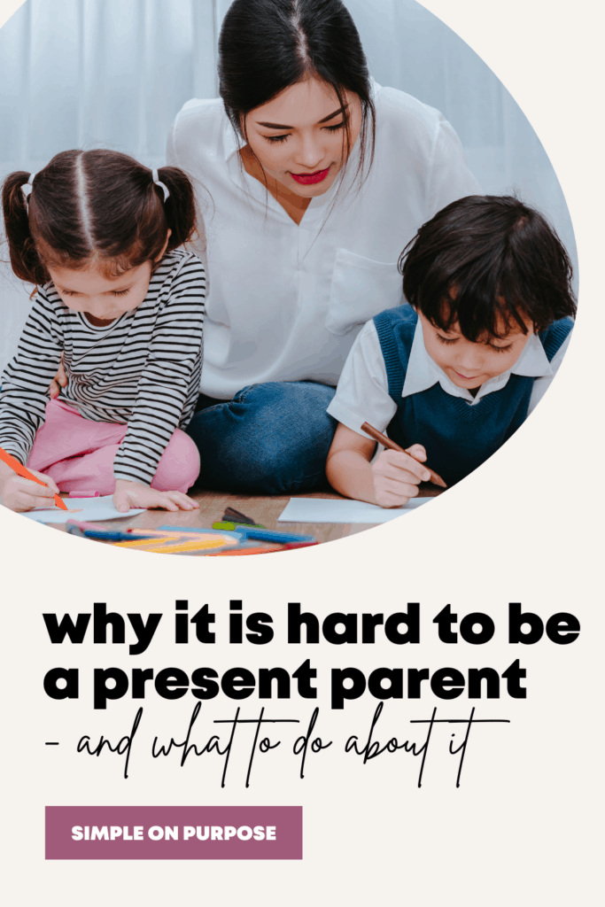why it is hard to be a present parent and what to do about it