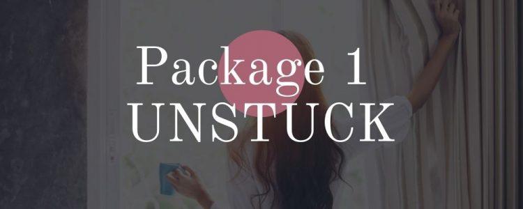 package 1 unstuck