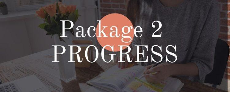 package 2 progress